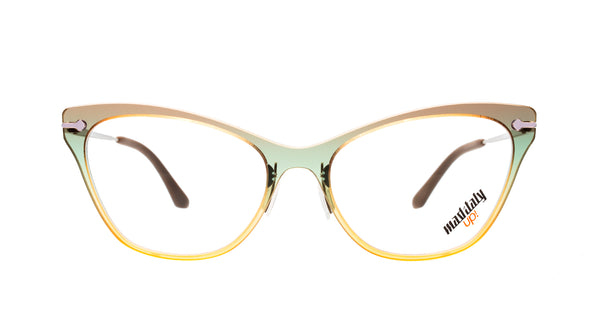 Women eyeglasses Butterfly J02 Mad in Italy front