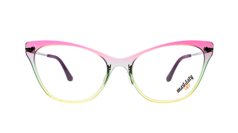 Women eyeglasses Butterfly Q03 Mad in Italy front