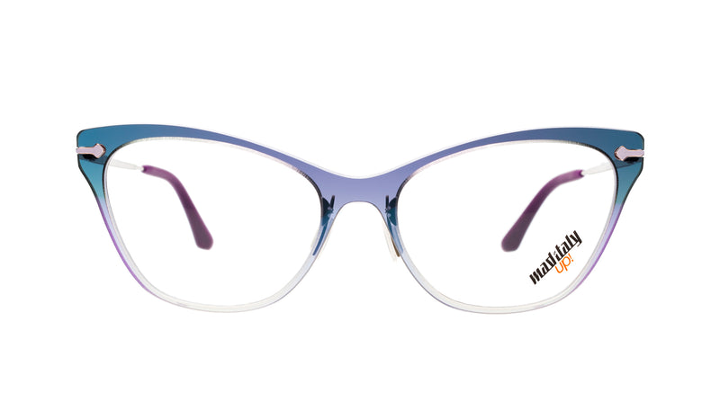 Women eyeglasses Butterfly v04 Mad in Italy front