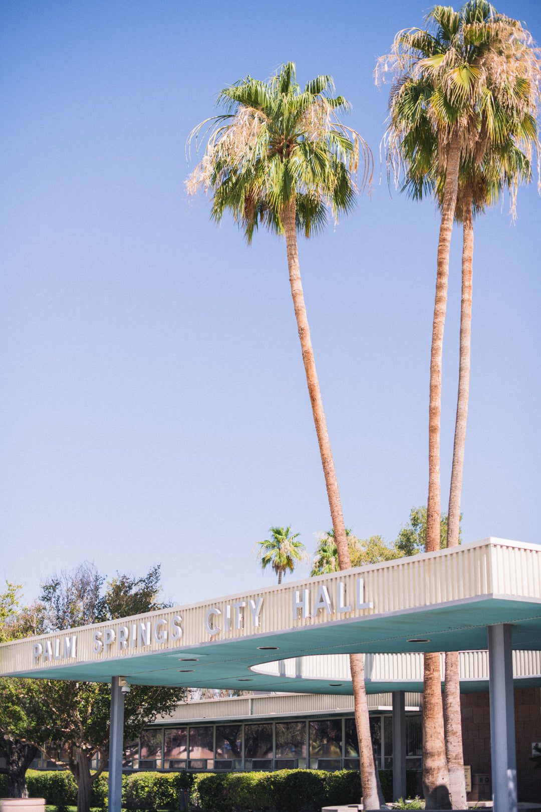 Palm Springs City Hall: One