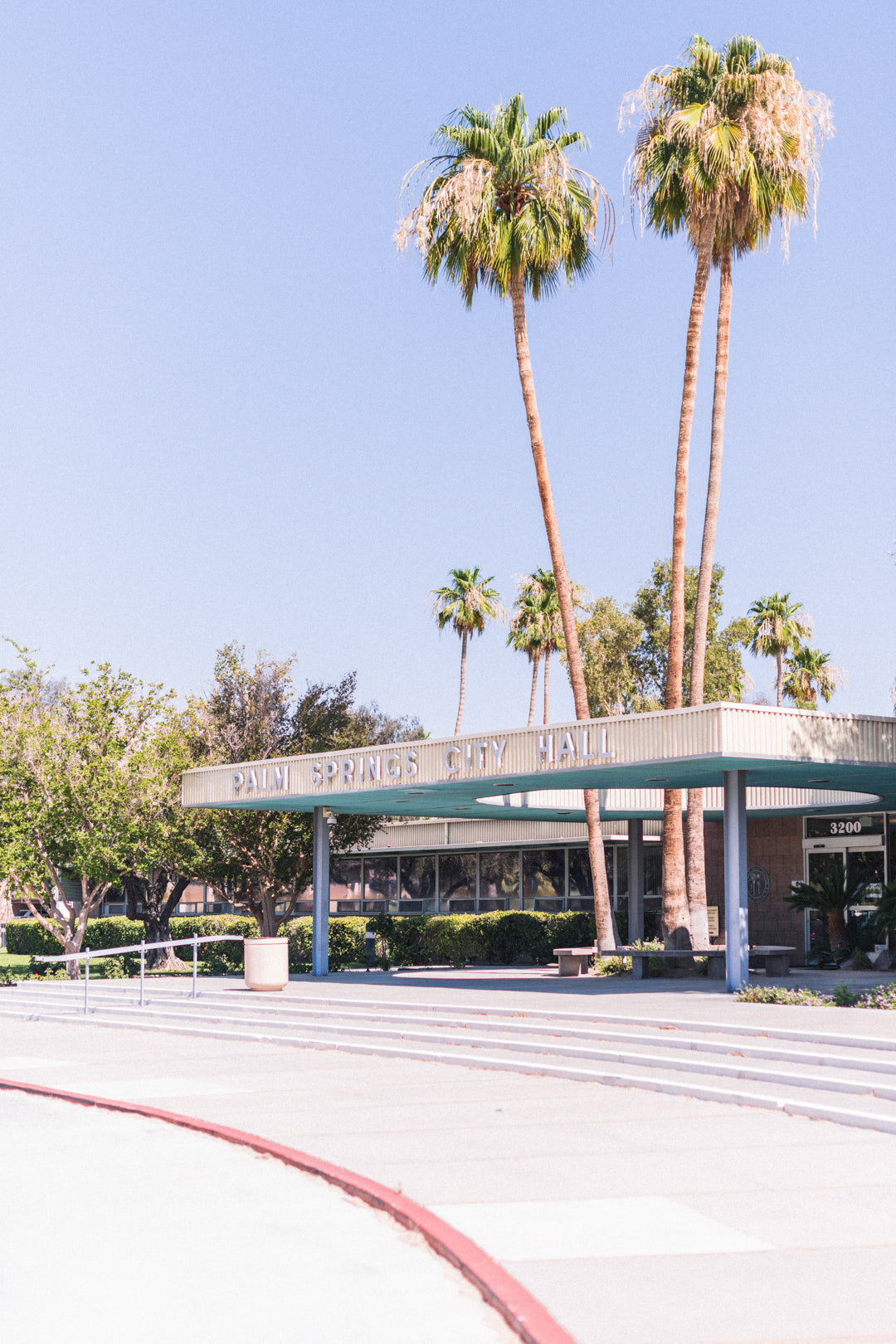 Palm Springs City Hall: Two