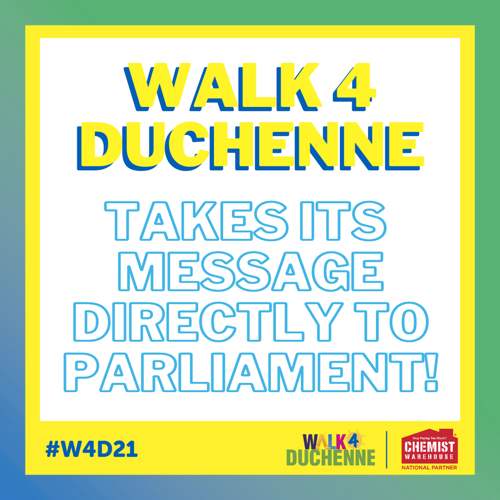 Walk 4 Duchenne Takes Its Message Directly to Parliament