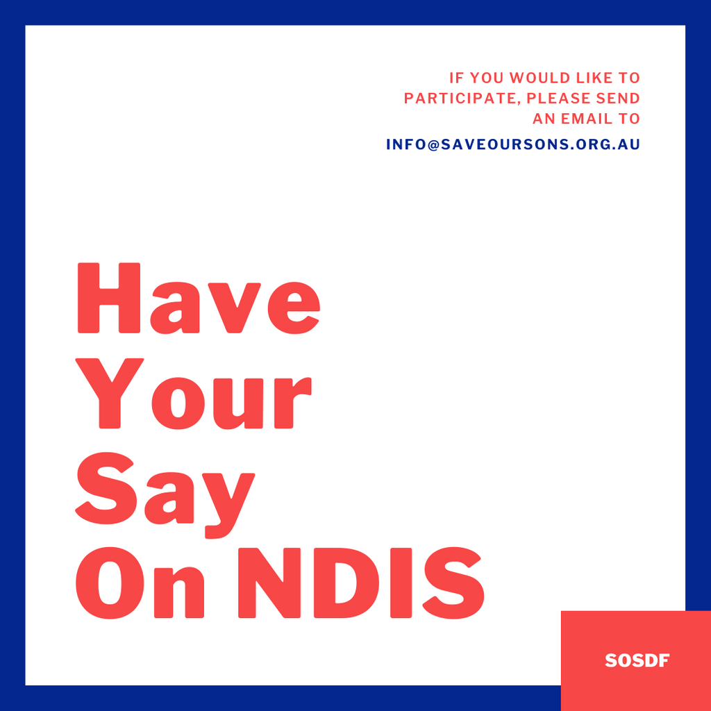 Have Your Say On NDIS