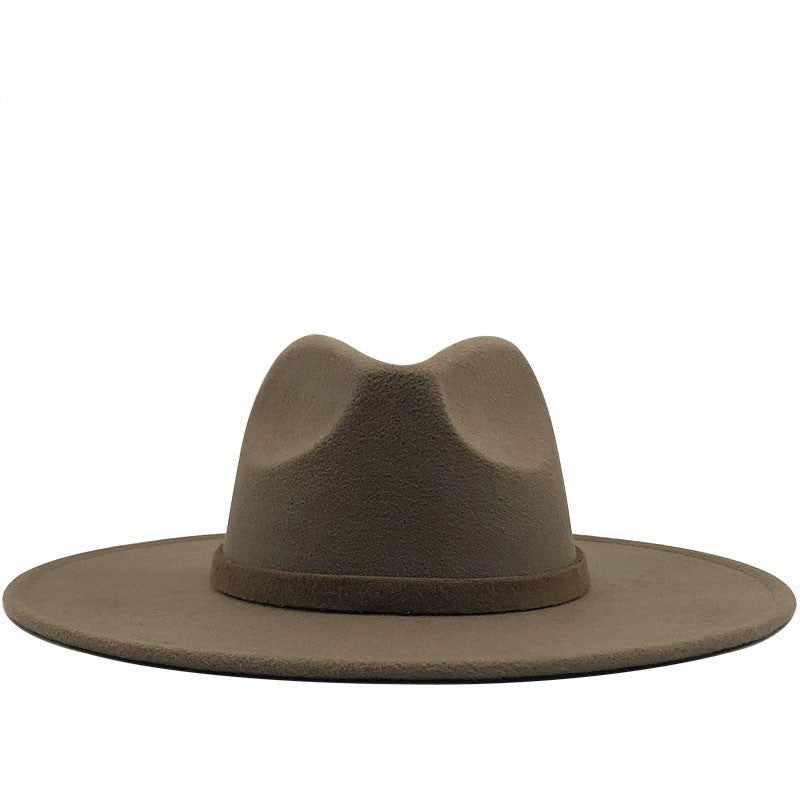 Wide Brim Panama Hat