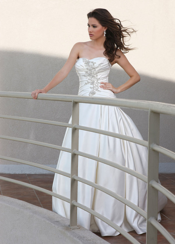 DaVinci Bridal 50250 Dress Strapless