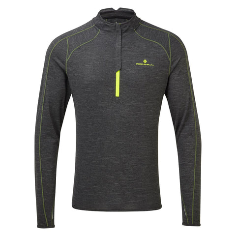 Ronhill Mens Tech Thermal 1/2 Zip Tee