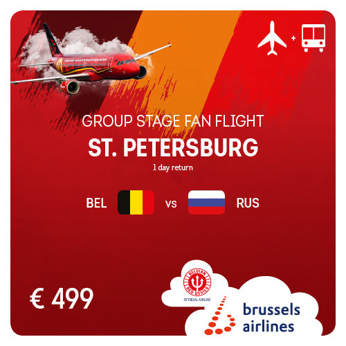 St. Petersburg (LED) • #BELRUS • 13/06/2020 • 1 day return