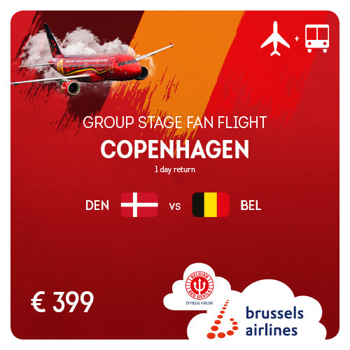 Copenhagen (CPH) • #DENBEL • 18/06/2020 • 1 day return
