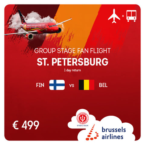 St. Petersburg (LED) • #FINBEL • 22/06/2020 • 1 day return