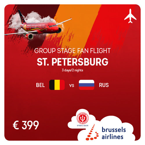 St. Petersburg (LED) • #BELRUS • 13/06/2020 • 3 days/2 nights