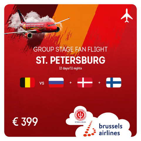St. Petersburg (LED) • Follow Belgium • 12-23/06/2020 • 12 days/11 nights