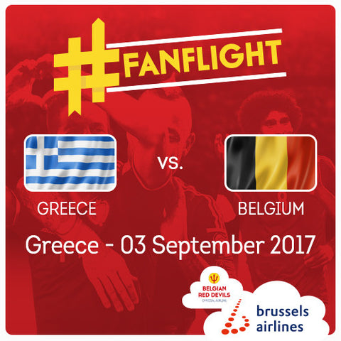 #FANFLIGHT Greece vs Belgian Red Devils