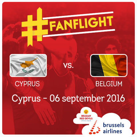 #FANFLIGHT Cyprus vs Belgian Red Devils