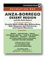 The Anza-Borrego Desert Region Guide/with Map