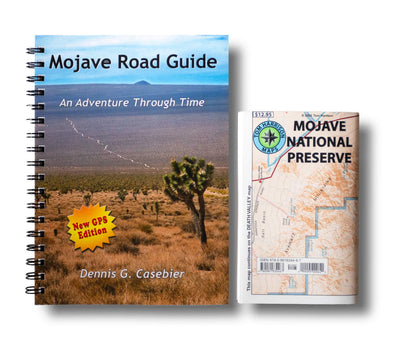 Mojave Road Guide and Map Mojave National Preserve