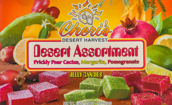 Desert Jelly Candies - Prickly Pear Cactus - Margarita - Pomegranate