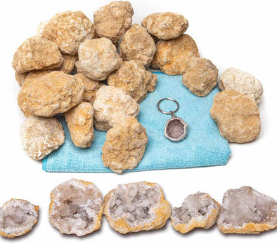 25 Break Your Own Geodes