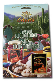 Blue Corn Cookie And Cactus Marmalade Mix Set