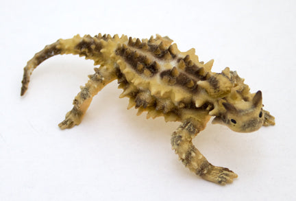 Thorny Devil Painted Pewter Figurine 4.5""