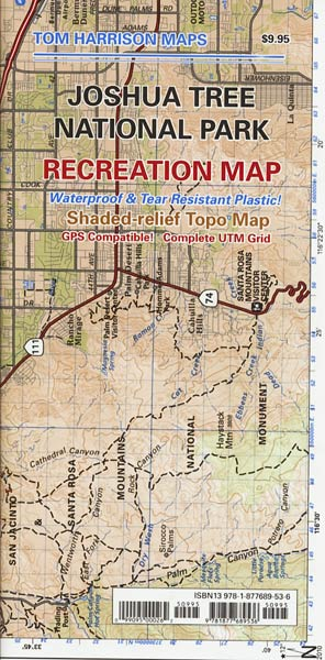 Joshua Tree National Park Recreation Map