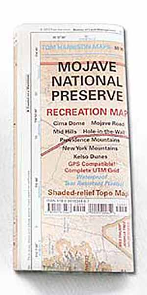 Mojave National Preserve Map