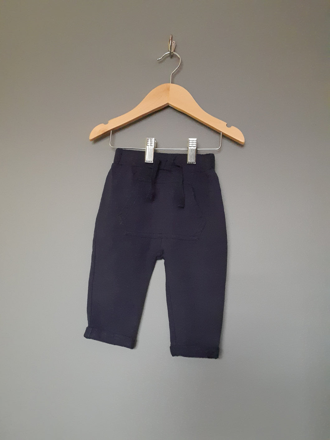 3-6 months Navy pants