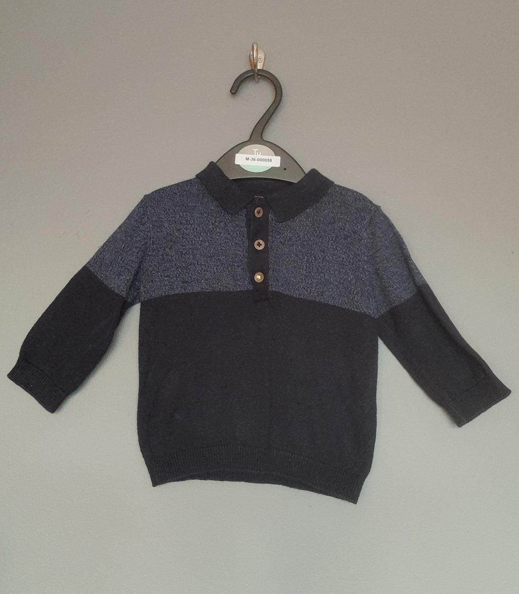 3-6 months Navy Jumper - Next