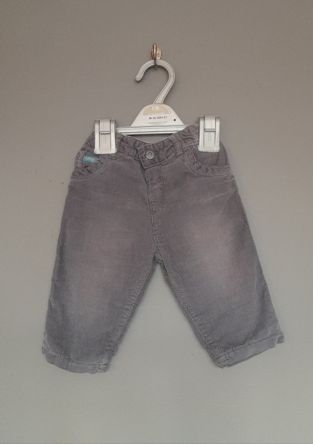 3-6 months Grey Cord pants - Autograph M&S