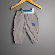 Load image into Gallery viewer, 3-6 months Grey Cargo Pants - M&S