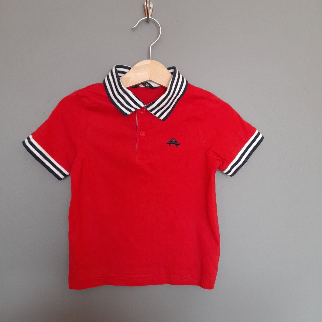 12-18 months red polo shirt - George