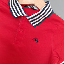 Load image into Gallery viewer, 12-18 months red polo shirt - George