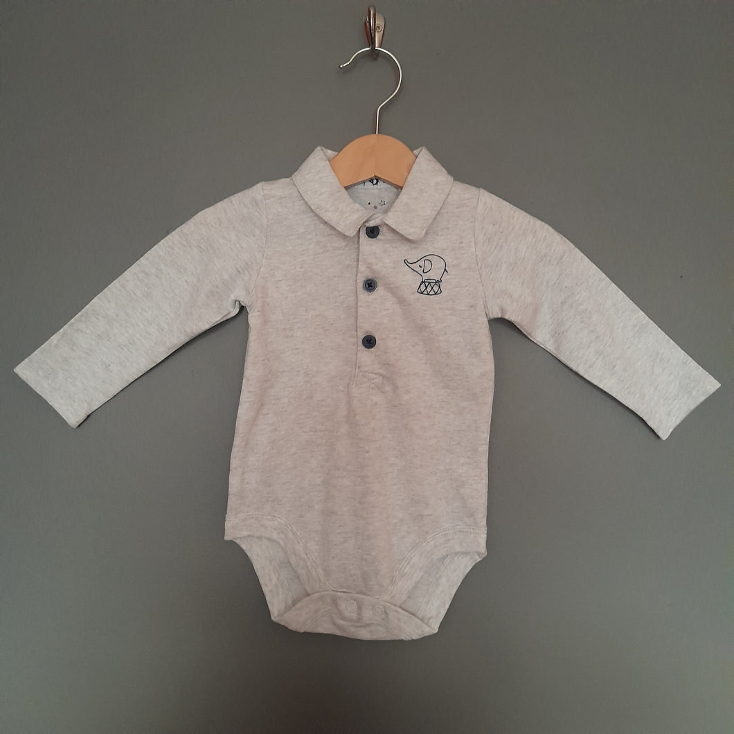 3-6 months brand new grey polo shirt vest - Tu