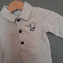 Load image into Gallery viewer, 3-6 months brand new grey polo shirt vest - Tu