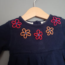 Load image into Gallery viewer, 3-6 months Navy Tunic top - Jasper Conran