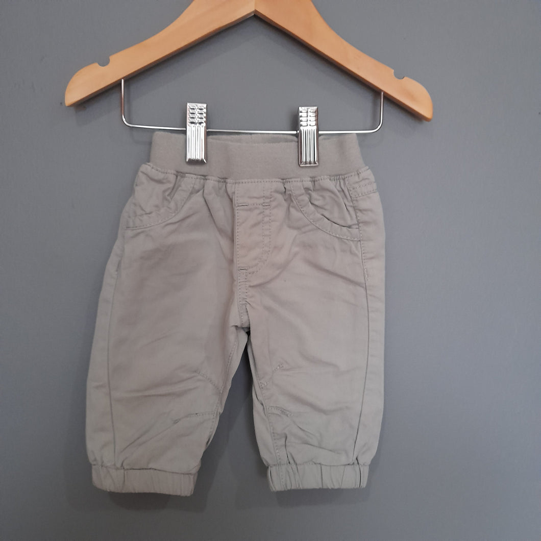 0-3 months Grey Cargo Pants - George
