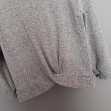 Load image into Gallery viewer, 6-7 years Grey Hooded Jumper - Zara