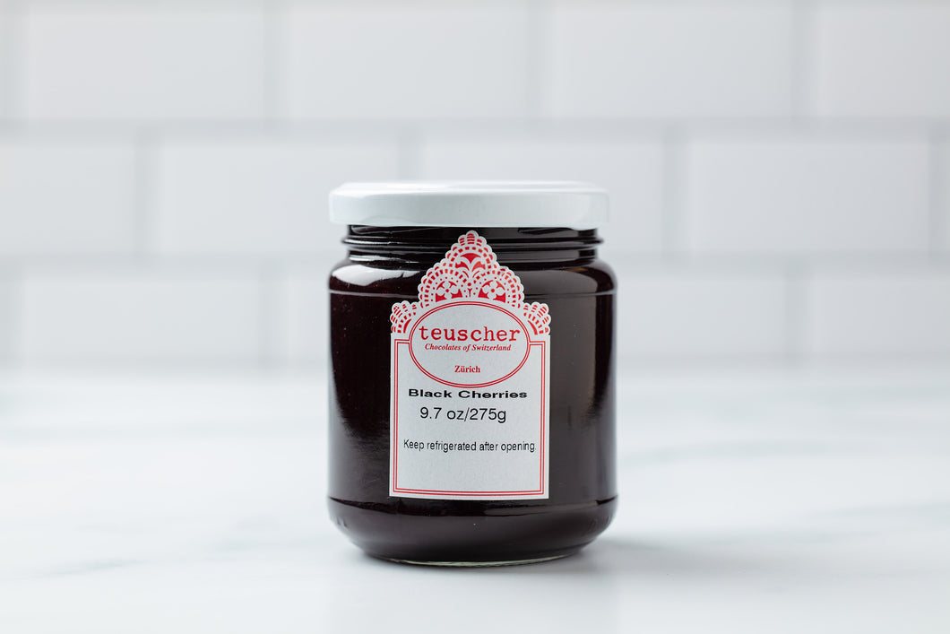 Teuscher Black Cherry Jam
