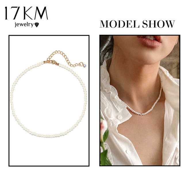 17KM Multilayer Fashion Halskette 2021 Fashion New Jewelry Geschenk