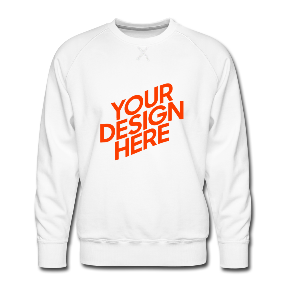 Men's Premium Sweatshirt - white