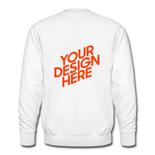 Lade das Bild in den Galerie-Viewer, Men's Premium Sweatshirt - white