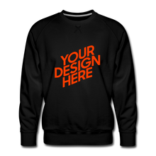 Lade das Bild in den Galerie-Viewer, Men's Premium Sweatshirt - black