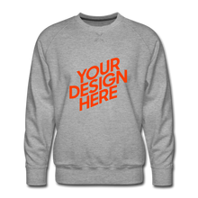 Lade das Bild in den Galerie-Viewer, Men's Premium Sweatshirt - heather grey