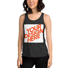 Lade das Bild in den Galerie-Viewer, Tri-Blend Racerback-Tank-Top für Damen Tank-Top