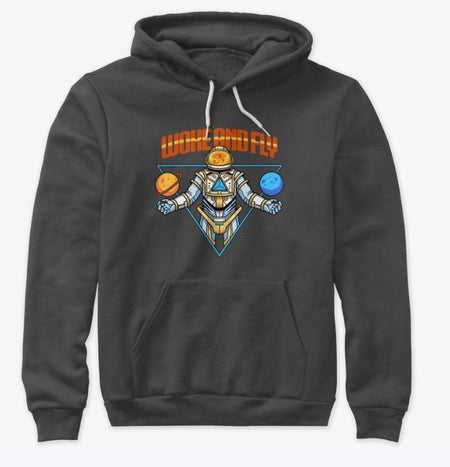 ORIGINAL BLACK SPACE FORCE PULLOVER