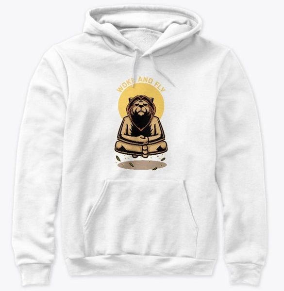 wokeandfly META LION COTTON PULLOVER NEW YORK T SHIRT