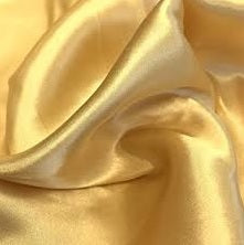 Satin charmeuse camel gold