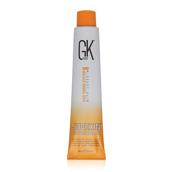 GK Hair,JUVEXIN CREAM COLOR-Ice Chestnut,only amplifies the hair power of Juvexin, Long lasting color, Suitable for all hair typeshealthy looking hair,Cuts blow-drying time by 50%,Amazing shine and smooth hair,Safe to use on tamed hair,Juvexin formula,GKhair,gkhair,gk hair,Gk Hair