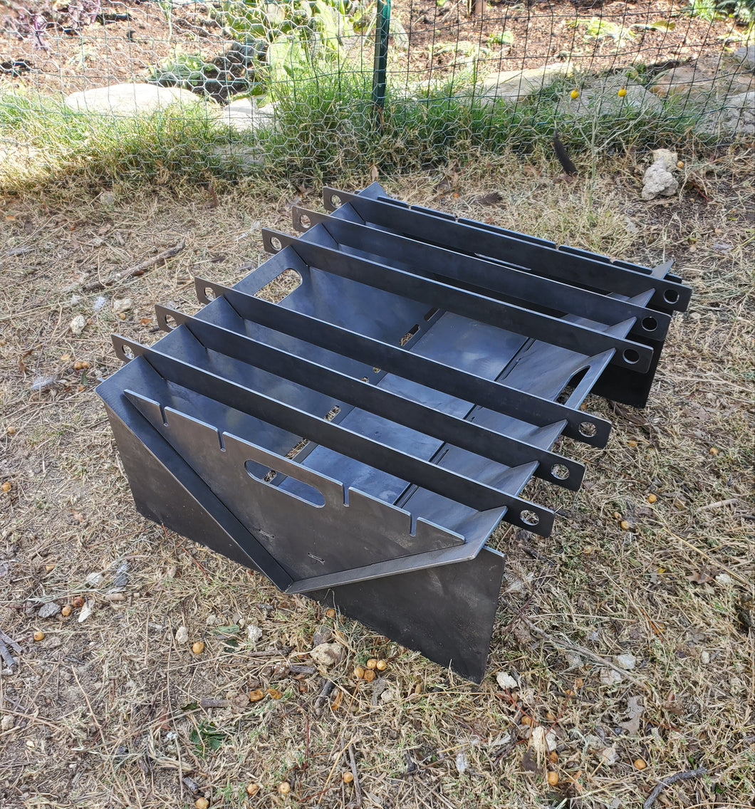 Collapsible Fire Pit & Grill