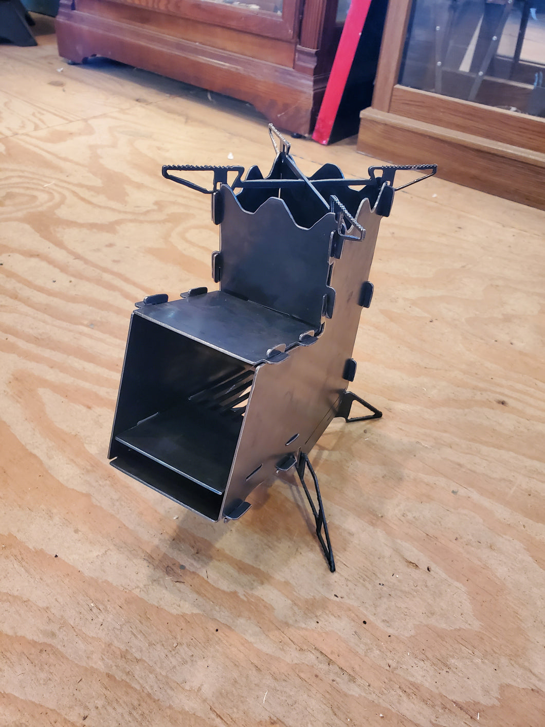 Collapsible Rocket Cooking Stove