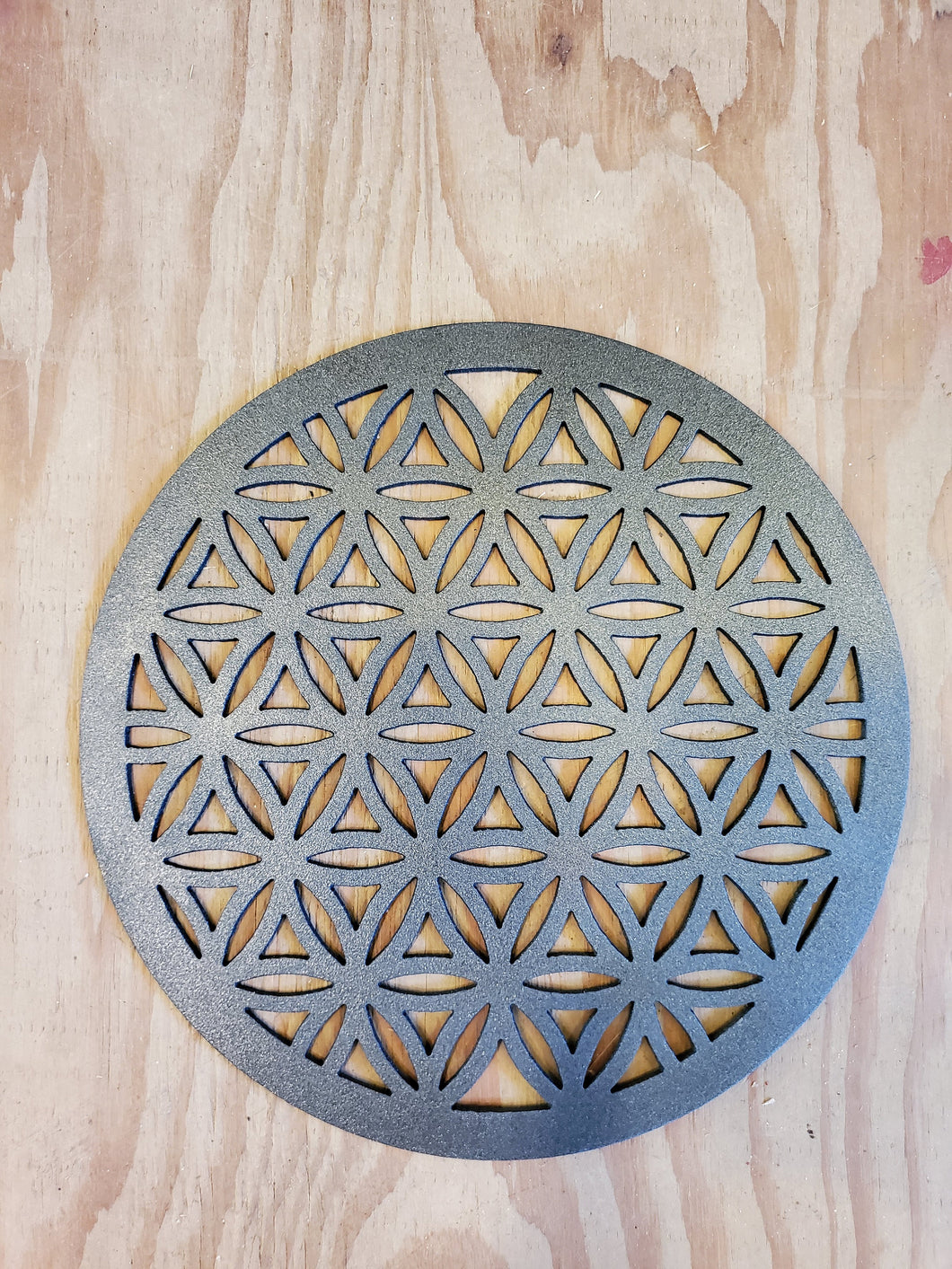 Flower of Life, steel 10 or 14ga thickness available